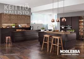 Keittiömaan Noblessa Keittiömallisto 2017 By Mainostoimisto