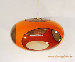 Luigi Colani Ufo Pendant Lamp Vintage Info All About Vintage Lighting