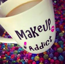 coffee and make up lover and cute coffee mugs