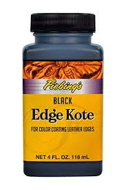 Fiebings Edge Kote 4 Oz Color Coats Leather Edges