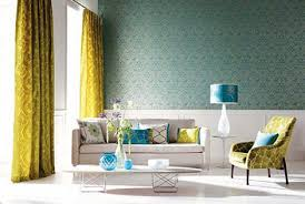 Small Picture Blue Wallpaper Fabric Interior Design Picsdecorcom