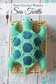 Free Crochet Turtle Pattern Unique Crochet Sea Turtle Whistle And Ivy