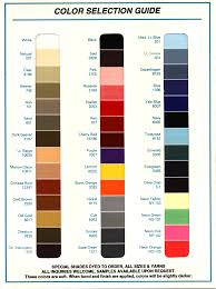 Eddington Thread Color Chart Color Selection Guide
