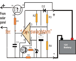 simple solar battery charger circuit diagram help understanding Solar Battery Wiring simple solar battery charger circuit diagram make this zero drop solar battery charger circuit solar battery wiring diagram