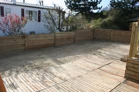 Nivrem Com Comment Faire Une Terrasse En Bois Sur Du Gravier