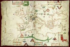 Portolan Charts 1489 Caneopa Portolan Chart Bell Library Maps And Mapmakers