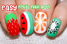 Fruit Nail Art | Graham Reid