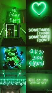 Neon Green Aesthetic Wallpapers ...
