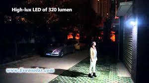 Wireless Solar MotionSensor LED Security Lights With Photocell Solar Sensor Security Light