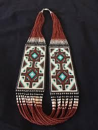 navajo bead designs. Copy Of Beaded Necklace Strand Maiden Navajo Bead Designs A