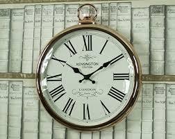 large black wall clocks
