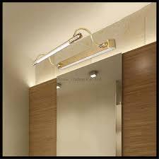 mirror lamp. 100v - 240v 10w 65cm led vintage mirror lights minimalist bathroom cabinet makeup table european painting lamp