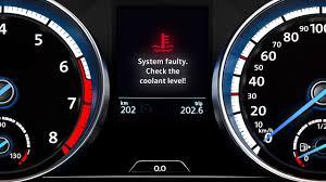 Volkswagen Temperature Warning Light Operating Fluids