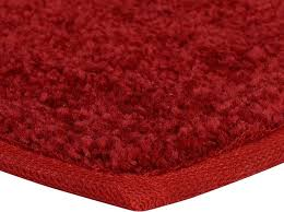 american bright solid color red 2 x3 area rug contemporary area rugs by carpet queen