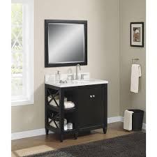 Bathroom Vanity Black Home Decorators Collection Hayes Contemporary 36 In Vanity In