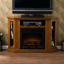 corner electric fireplace tv stand home depot stone