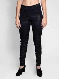 gary graham stretch leather legging