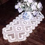 Free Crochet Table Runner Patterns Cool Filet Crochet Table Runner Patterns