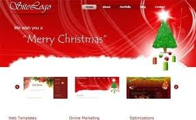 Free Christmas Website Templates Party Flyer Christmas Website Templates Free Download Design
