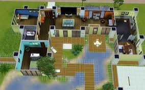 home architecture design modern house floor plans sims architectural