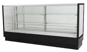 glass display case. Extra Vision Display Case Glass