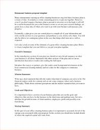 Business Plan Executive Summary Example Bus188 Plans Sample