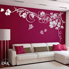 wall painting designs design ideas home paint for drawing room gray living bathroom feng shui