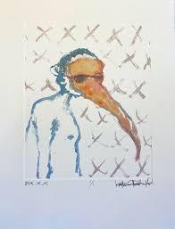 Ex XXX by Katherine Rhodes Fields (0) : Print Monotype on Paper - Singulart