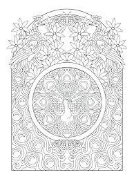Art Nouveau Coloring Pages Adults Sleekadscom