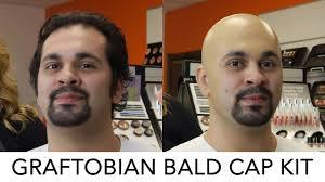 graftobian bald cap kit tutorial crcmakeup com