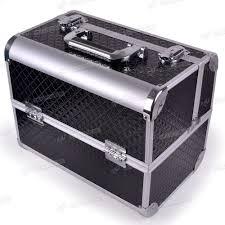 aluminium black diamond beauty makeup tool cosmetic box