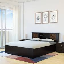 Perfect Homes By Flipkart Rhapsody Engineered Wood Queen Box Bed