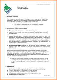 4 5 Executive Summary Example Salescvinfo