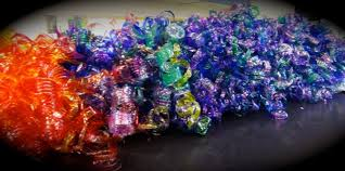 our giant chihuly project is finished georgetown s fifth graders began our water bottle chihuly in september and our fourth graders joined the fun in early
