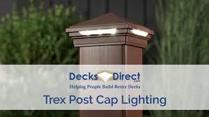 Trex Deck Post Cap Lighting Trex Post Cap Lighting Introduction