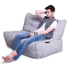 white twin couch bean bag sofa
