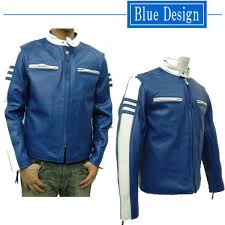 cow leather two tone single riders jacket 6052 leather and cow leather jackets jean vests single jacket leather