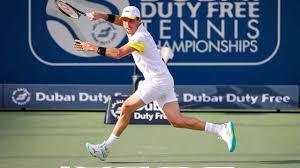 NextGenATP Italian Jannik Sinner Upsets Roberto Bautista Agut In Dubai |  ATP Tour