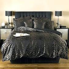 image is loading sierra leopard print duvet cover black animal covers uk