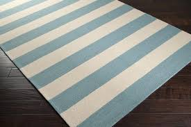 light blue and white striped area rug designs
