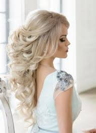 45 Most Romantic Wedding Hairstyles For Long Hair účesy