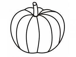 Aside from that, we also have other printable coloring pages with varying themes and designs. Blank Pumpkin Coloring Pages Coloring Home
