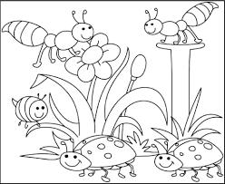 Tổng hợp các bức tranh tô màu côn trùng dễ thương nhất dành tặng cho bé -  Chia sẻ 24h