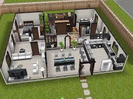 Sims Interior Design Game Modern Design Inspired Sims Freeplay House Idea Game