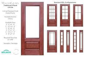 4 panel front doors 4 entry door fiberglass exterior doors for home 3 4 light entry