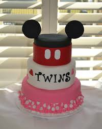 Mickey And Minnie Baby Shower Cakes Co Baby Mickey Minnie  Baby Baby Mickey Baby Shower Cakes
