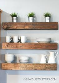 how to build floating shelves step by tutorial for building amazing an industrial masculine office these