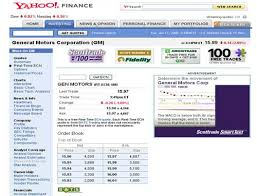 Stock Quotes Yahoo Fascinating Yahoo Financeyahoo Download