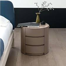 round bedside table with drawer small bedside table no drawers awesome round nightstand with drawer bedroom