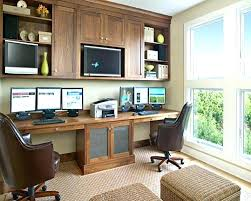 two desk office. Plain Two Home Office Ideas For Two Design Creating A  Small   In Two Desk Office I